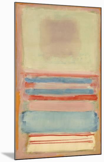 No. 7 [or] No. 11, 1949-Mark Rothko-Mounted Art Print