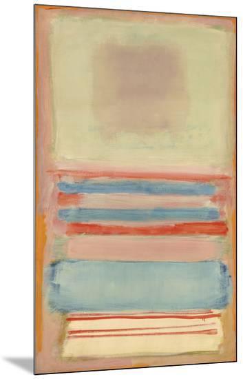 No. 7 [or] No. 11, 1949-Mark Rothko-Mounted Print