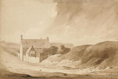 No 8 Farme De La Haie Sainte from Mount St John', 1815-Denis Dighton-Giclee Print