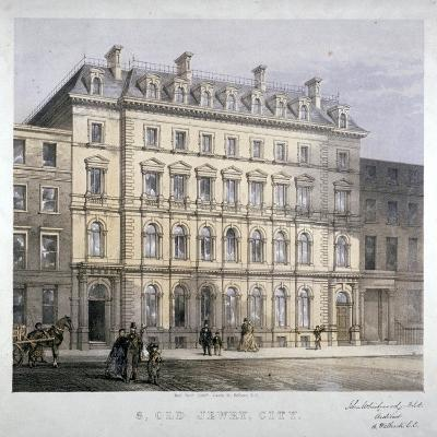 No 8 Old Jewry, City of London, C1865--Giclee Print