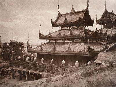 No. 8. Ye-Nan-Gyoung [Yenangyaung] Kyoung, 1855-Linnaeus Tripe-Giclee Print