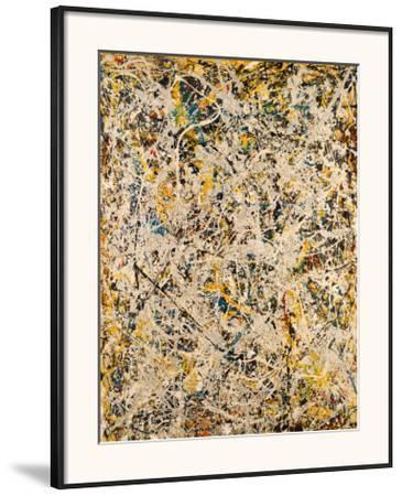 No. 9, 1949-Jackson Pollock-Framed Art Print