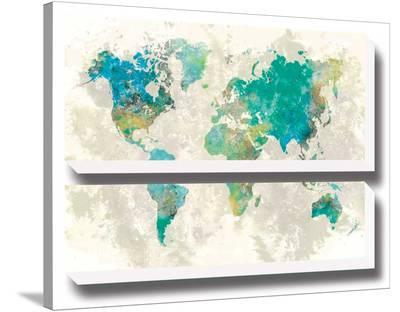 No Borders-Stephane Fontaine-Stretched Canvas Print