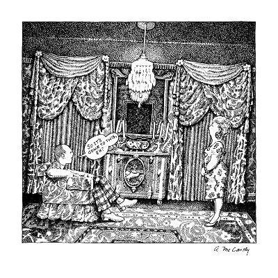 No Caption - New Yorker Cartoon-Ann McCarthy-Premium Giclee Print