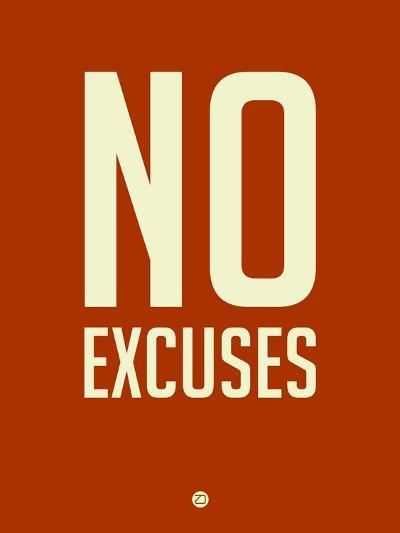 No Excuses 2-NaxArt-Art Print