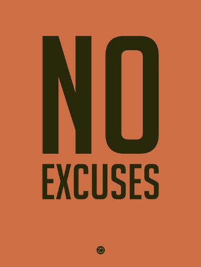 No Excuses 3-NaxArt-Art Print