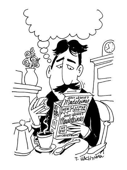 No-Fat Madeleines - New Yorker Cartoon-Tom Hachtman-Premium Giclee Print