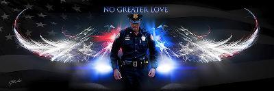 No Greater Love (Police)-Jason Bullard-Art Print