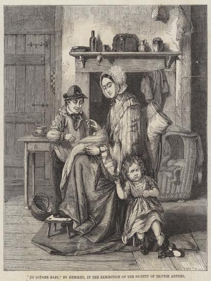 No Longer Baby-William Hemsley-Giclee Print