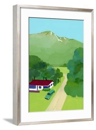 No one knows restaurant-Hiroyuki Izutsu-Framed Giclee Print