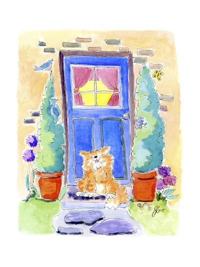 No place like home-Jennifer Zsolt-Giclee Print