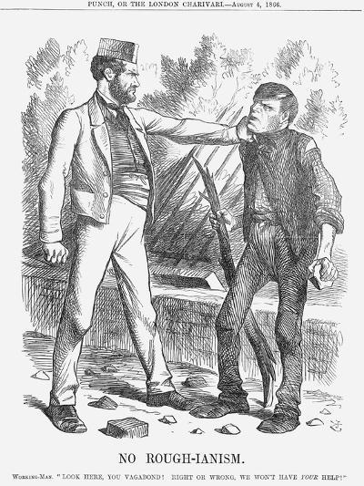 No Rough-Ianism, 1866-John Tenniel-Giclee Print