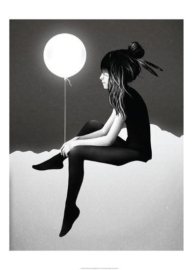 No Such Thing as Nothing by Night-Ruben Ireland-Art Print