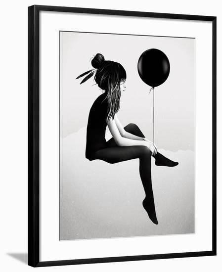No Such Thing as Nothing-Ruben Ireland-Framed Art Print