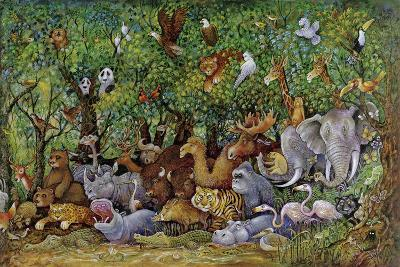 Noah and Friends (Part 2)-Bill Bell-Giclee Print