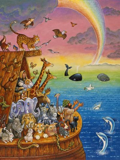 Noah and the Rainbow-Bill Bell-Giclee Print