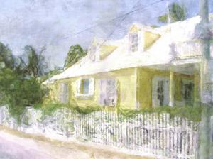 Bay Street Cottage I by Noah Bay