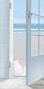 Coastal Doorway I by Noah Bay