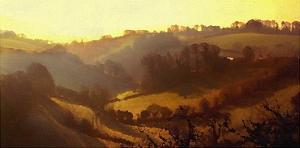 Misty Valley by Noah Bay