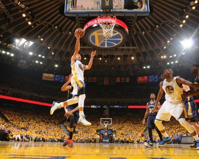 New Orleans Pelicans v Golden State Warriors - Game One by Noah Graham