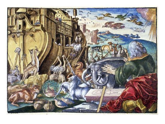 Noah's Arc--Giclee Print