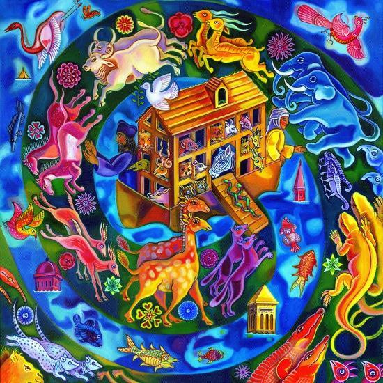 Noah's Ark, 2010-Jane Tattersfield-Giclee Print
