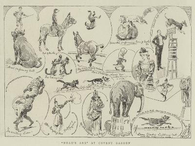 Noah's Ark at Covent Garden-Alfred Chantrey Corbould-Giclee Print