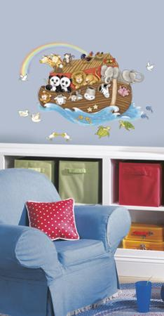 Noah's Ark Peel & Stick Giant Wall Decal