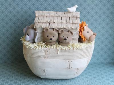 Noah's Ark Side View Bears--Photographic Print