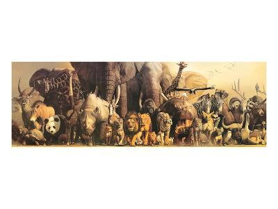 Noah's Ark-Haruko Takino-Art Print