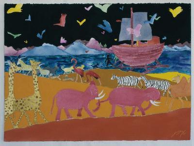 Noah's Ark-Erik Slutsky-Giclee Print