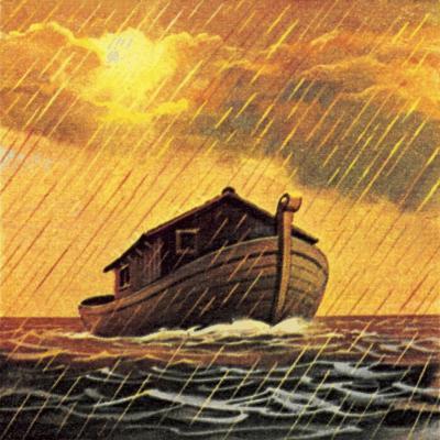 Noah's Ark-English School-Giclee Print
