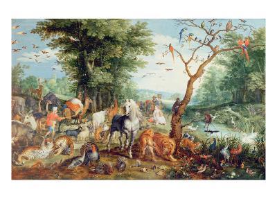 Noah's Ark-Jan Snellinck-Giclee Print