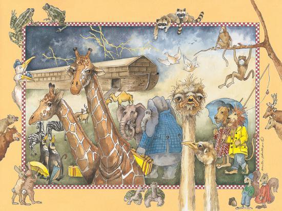 Noah's Ark-Anita Phillips-Art Print