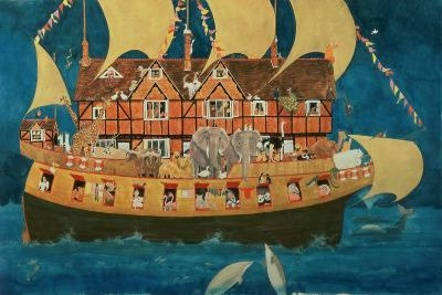 Noah's Ark-Linda Benton-Giclee Print