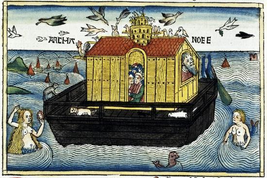 Noah's Ark-Unknown-Giclee Print