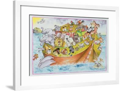 Noah's Crazy Ark, 1999-Maylee Christie-Framed Giclee Print