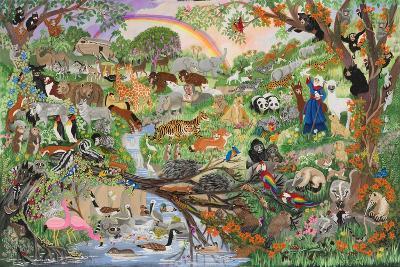 Noah's Rainbow #5-Carol Salas-Giclee Print