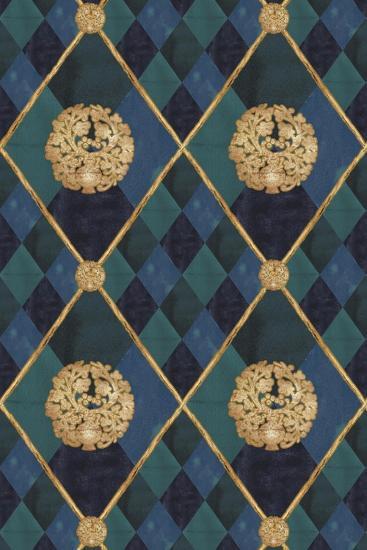 Noble Arlequin-Maria Trad-Giclee Print