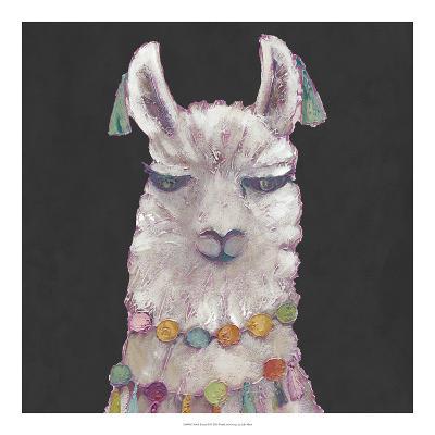 Noble Llama II-Julie Silver-Giclee Print