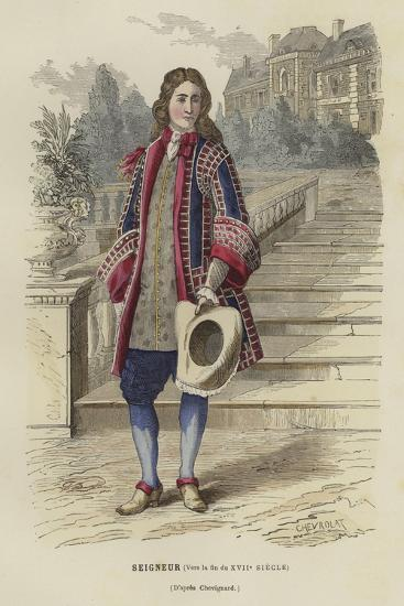 Nobleman, Late 17th Century--Giclee Print
