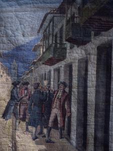 Nobles from Santa Fe De Bogota, Taking Advantage of Spanish Invasion by Napoleon's Army