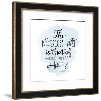 Noblest Art III-Tara Moss-Framed Art Print