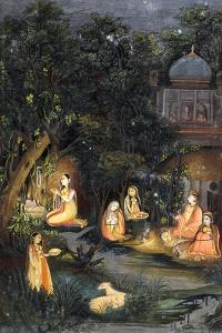 Nocturnal Worship and Feasting, C.1770