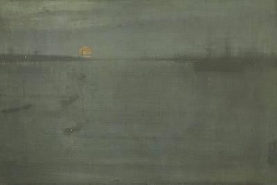 Nocturne: Blue and Gold, Southampton Water, 1872-James Abbott McNeill Whistler-Giclee Print