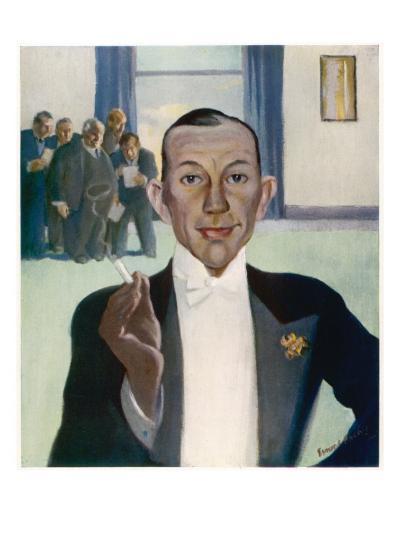 Noel Coward (1899-1973)--Giclee Print