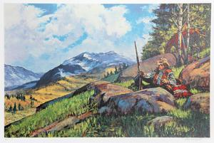 A Long Rifle Awaits by Noel Daggett