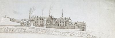 The Abbey of Montmartre, with Chimneys Smoking