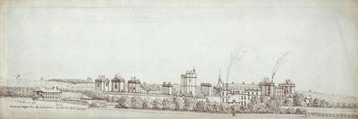 The Chateau De Vincennes, with Chimneys Smoking
