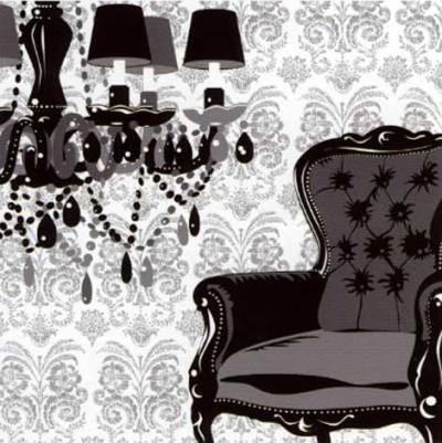 Noir et Blanc-Archibald-Art Print